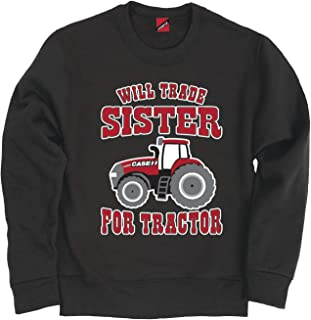 Will Trade Sister for Tractor - CASE IH Toddler Crew Fleece