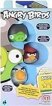 Angry Birds Red Bird, Gray Helmet Pig, White Bird Add-On, 3-Pack