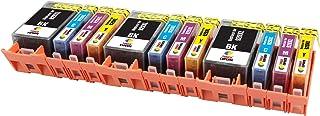 TONER EXPERTE® 12 XL Cartuchos de Tinta compatibles con HP 920 920XL para Impresoras HP OfficeJet 6000 6500 6500A 7000 7500A C2N92AE CD975AE CD972AE CD973AE CD974AE | Alta Capacidad