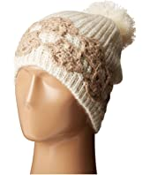 Betsey Johnson - Winter Bloom Beanie