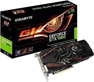 Gigabyte GeForce GTX 1060 G1 Gaming 3G 3 GB GDDR5 - Tarjeta gráfica (GeForce GTX 1060, 3 GB, GDDR5, 192 bit, 7680 x 4320 Pixeles, PCI Express x16 3.0)