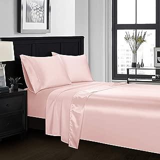 Best pink silk sheets Reviews