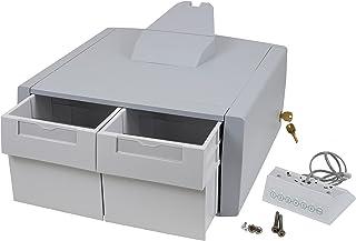 Ergotron Primary Double Tall Drawer - Composant de Montage (Module à tiroirs) - verrouillable - médical - Gris, Blanc - mo...