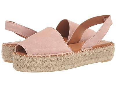 ALOHAS Ibizas Platform Espadrille Sandal (Pale Pink) Women