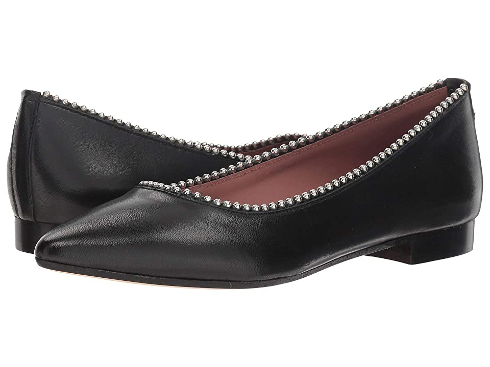 Summit by White Mountain Kathlean Flat (Black Leather) Women