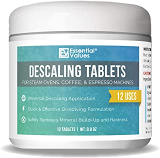 Descaling Tablets (12 Count/Up To 12 Uses) For Jura, Miele, Bosch, Tassimo Espresso..