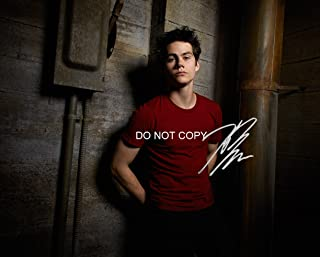 Teen Wolf MTV show Dylan O'Brien reprint signed autographed photo #4 RP The Maze Runner