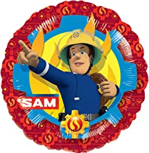 Anagram 18 Inch Fireman Sam Circle Foil Balloon
