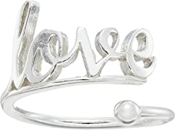 Love Ring Wrap - Precious Metal