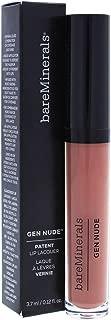 Bare Escentuals bareMinerals Gen Nude Patent Lip Lacquer Irl for Women, 0.12 Ounce