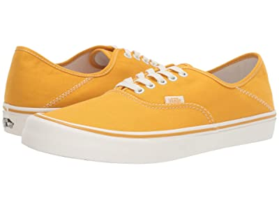 Vans Authentic SF ((Canvas) Mango Mojito/Marshmallow) Lace up casual Shoes