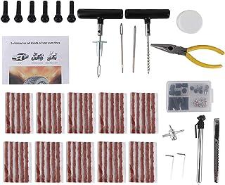 Fockety Kit de plugue de pneu, ferramentas de reparo de pneu, kit de plugue de reparo de rodas de automóveis, ferramentas ...