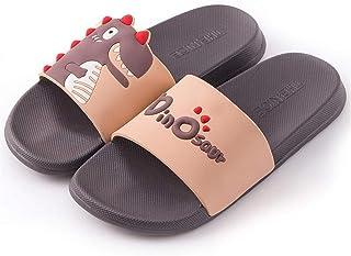 YAOLUU Summer Slippers Diapositivas de Verano Slippers Zapatillas de Dibujos Animados Grueso Abajo Playa Toboganes Baño Sa...