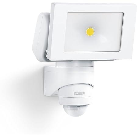 Steinel Projecteur LED extérieur LS 150 avec détecteur de mouvement 12 m - Spot mural extérieur avec capteur de présence - Luminaire de jardin 20,5W, blanc
