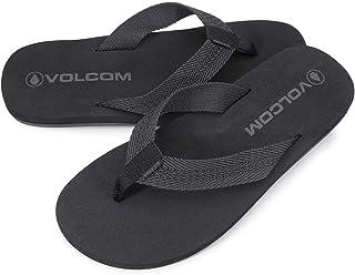 Volcom Men's Daycation Textile Flip Flop Sandal