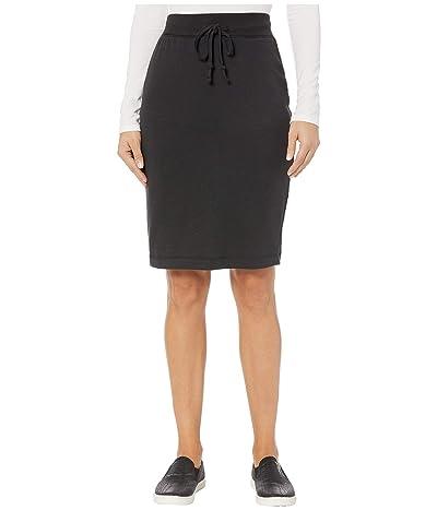 Alternative Vintage Heavy Knit Skirt (Black) Women