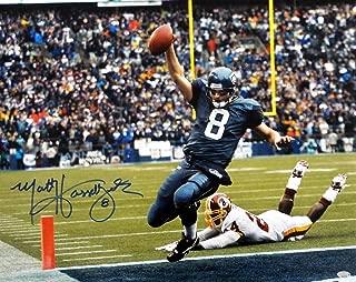 Matt Hasselbeck Autographed Picture - Sale!! 16x20 MCS Holo Stock #111400 - Autographed NFL Photos