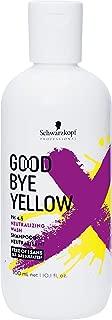 Goodbye Yellow by Schwarzkopf Shampoo 300ml