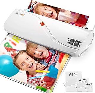 comprar comparacion Plastificadora A4 A5 A7, TACKLIFE MTL01 Laminador en frío y en caliente con ajustador de papel/ABS / 10 bolsas, 260 mm de ...