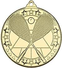 Lapal Dimension Squash 'Tri Star' medaille - zilver - 2 in Pack van 10