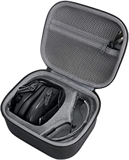 Hard Travel Case for Walker's Game Ear Walker's Razor Slim Electronic Hearing Protection Muffs by co2crea