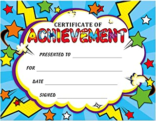 Certificate of Awards Superhero Certificates 30Pcs for Back to School Classroom Students Supplies
