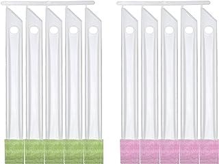 サンコー ブラシ すきまピカピカ 10本入 掃除 清掃 隙間 びっくりフレッシュ ピンクグリーン 日本製 1本あたり18×2cm BF-58
