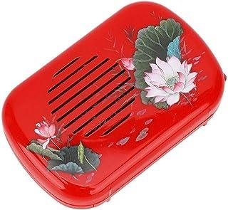 GLOGLOW Buddha Music Player, Portable Buddha Music Machine with 22 Songs Mini Buddhist Prayer Machine Buddhist Supplies fo...