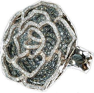 Dazzlingrock Collection 5.00 Carat (ctw) 14k Real Diamond Cocktail Ring, Rose Gold