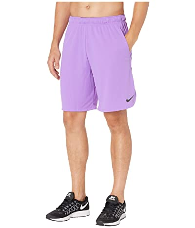 Nike Dri-FIT 9 Training Short (Bright Violet/Black) Men