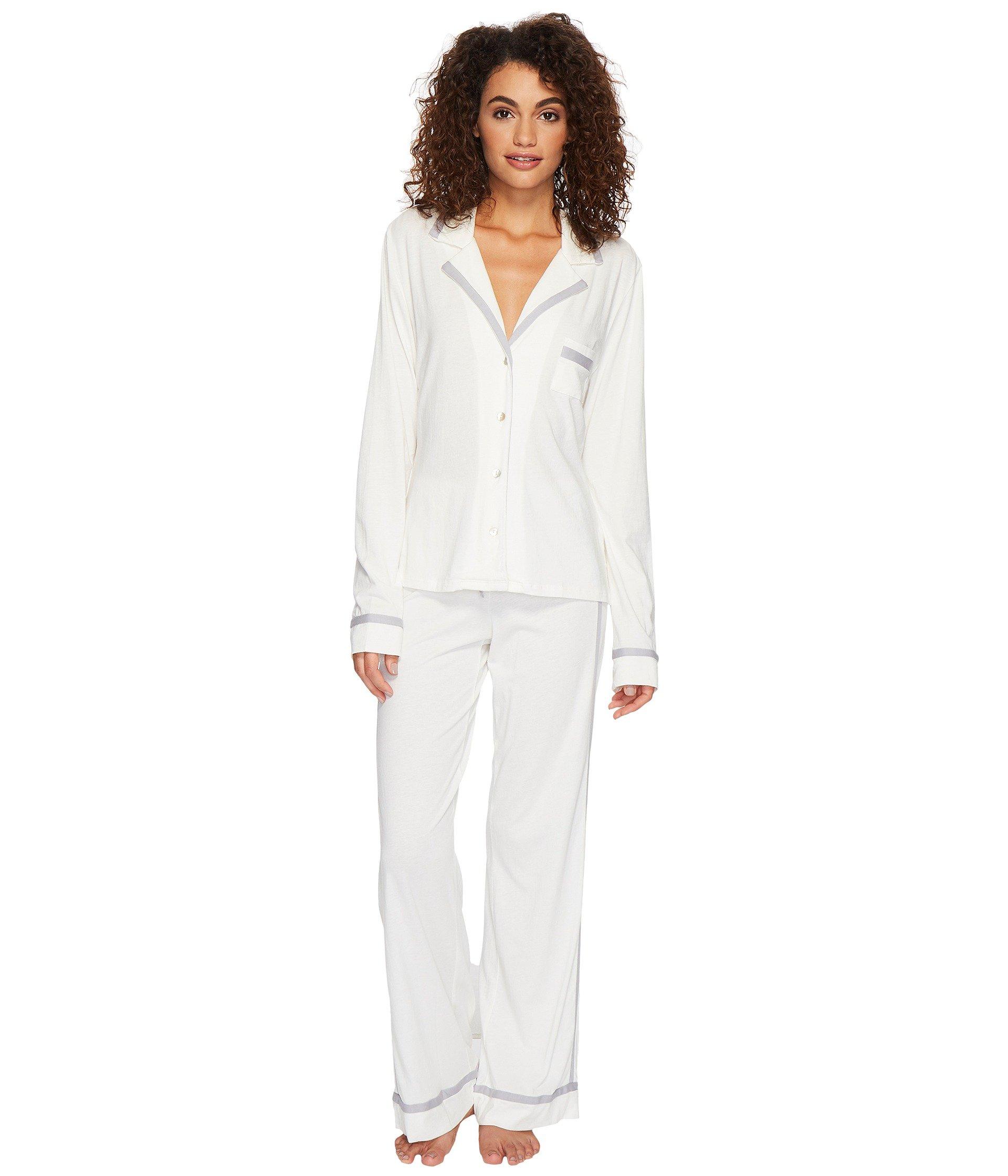 c1e84c00b51c Cosabella Bella Amore Long Sleeve Top Pants Pj Set In Moon Ivory ...