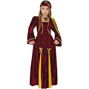 130-140 cm Costume Regina Rinascimento Medievale Bambina L 10-12 Anni Costume Regina Rinascimento Medievale Bambina L 10-12 Anni 130-140 cm Vegaoo