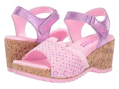 SKECHERS KIDS Bohemias 86974L (Little Kid/Big Kid) (Pink) Girl