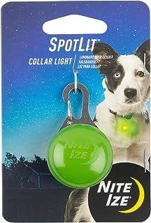 Nite Ize SpotLit Clip-On LED Light with Carabiner, Weather Resistant, Lime