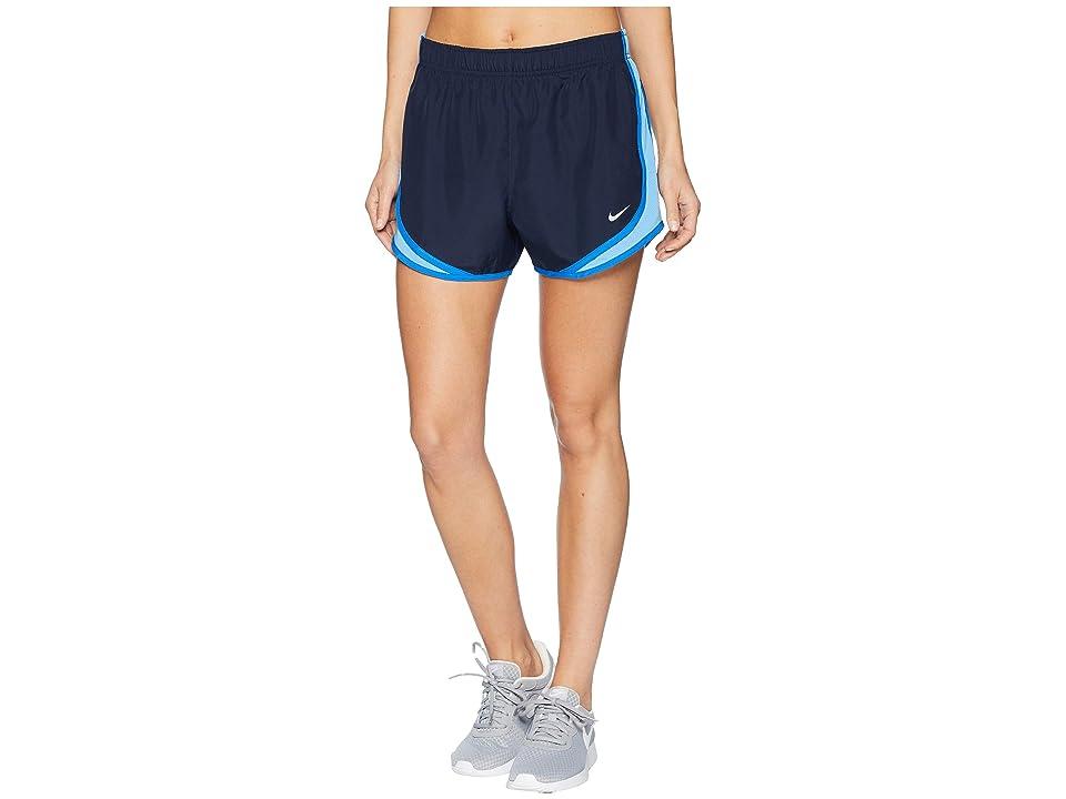 Nike Dry Tempo Short (Obsidian/University Blue/Wolf Grey) Women