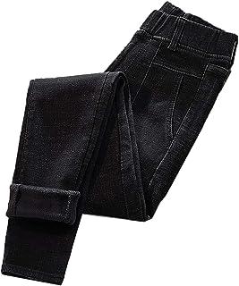 Invierno Más El Tamaño De La Cintura Elástico Thinck Velvet Jeans Mujer De Cintura Alta Skinny Pull Up Caliente De Dril De...