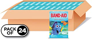 Band-Aid Brand Adhesive Bandages for Minor Cuts and Scrapes, Featuring Disney/Pixar Finding Dory Characters for Kids, Asso...