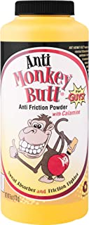 Original Anti Monkey Butt - Men's Body Powder with Talc and Calamine - Fights Friction and Absorbs Sweat - 6 Ounces - Pack...