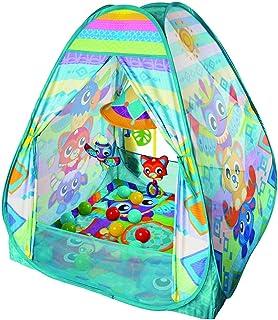 Playgro 3-i-1 tipi tält, bollbad och krypfilt, 0187626
