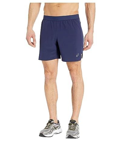 ASICS Road 7 Shorts (Peacoat) Men
