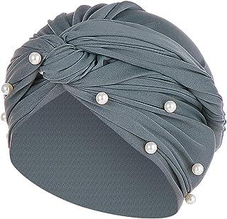Bonnets Accessoires Entireface Femmes Floral Dentelle Inde Chapeau Musulman Ébouriffer Cancer Chimio Bonnet Turban Emballage Casquette
