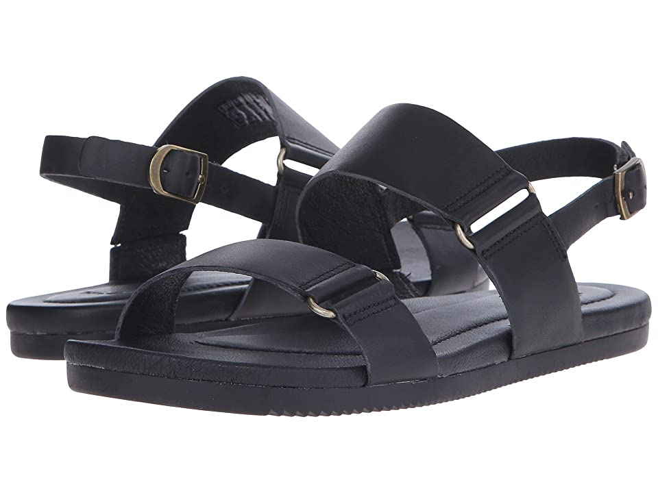Teva Avalina Sandal Leather (Black) Women