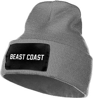 Beast Coast Mens Beanie Cap Skull Cap Winter Warm Knitting Hats.