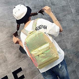 イェインシン バックパック ファッション女性石パターンポータブルバックパックバッグ 通学 旅行 入園 入学 プレゼント