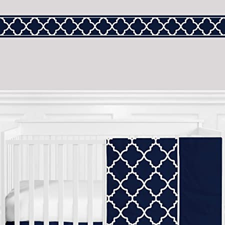 York Wallcoverings IN2642B Check Border Black//White