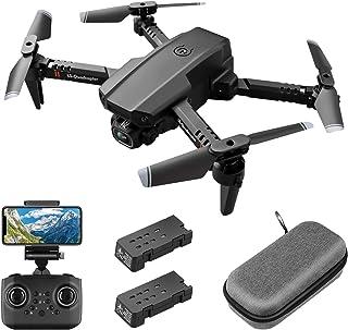 Mini-drone met 1080P FPV HD-camera voor volwassenen, RC opvouwbare quadcopter met gebarenbediening, hoogte vasthouden, hea...