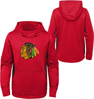 OuterStuff Youth NHL Chicago Blackhawks Performance Hoodie Youth Sizing