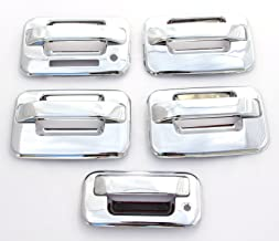 FOR 2015 FORD  F-150 REGULAR CHROME 2 DOOR HANDLE TAILGATE COVERS W//O CS