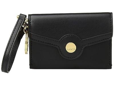 Lodis Accessories Rodeo RFID Aria Key Coin (Black) Handbags