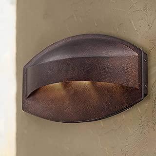 Xane Modern Outdoor Wall Light Fixture LED Bronze 11